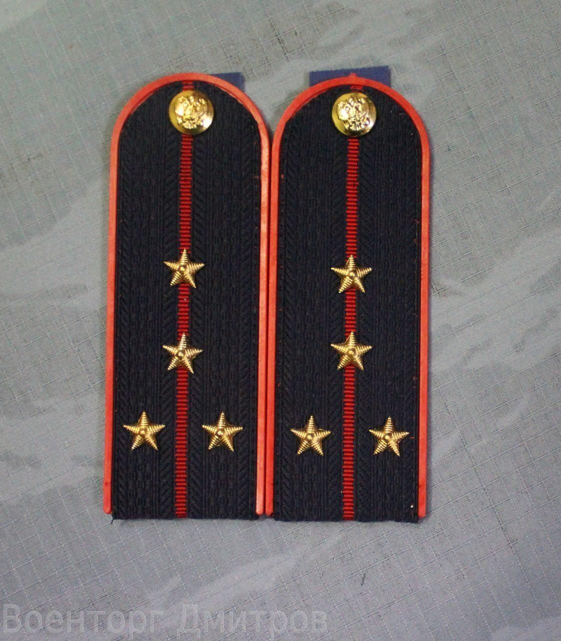 Знаки различия царской полиции: погоны полицейских, погоны.